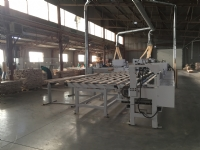 High speed horizontal finger jointing line